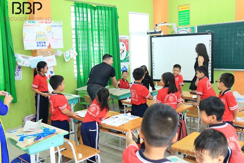 Trường tiểu học Chu Văn An - Phường Bình Hưng Hòa