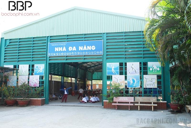 Nhà đa năng của trường tiểu học Võ Trường Toản