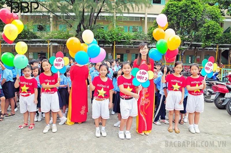 Trường tiểu học Nguyễn Khuyến - phường Đông Hưng Thuận