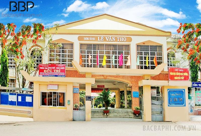 Trường tiểu học Lê Văn Thọ - phường Tân Thới Hiệp