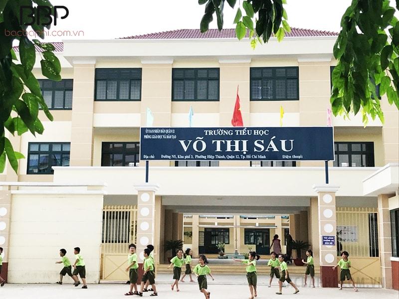 Trường tiểu học Võ Thị Sáu - phường Hiệp Thành