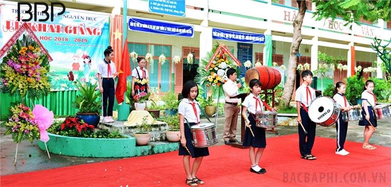 Trường tiểu học Nguyễn Trực - Phường 1