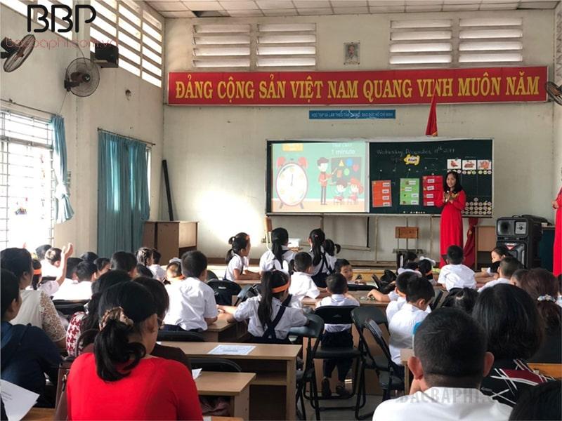 """Tiết học chuyên đề """"Open House"""" tại trường tiểu học Đinh Tiên Hoàng"""