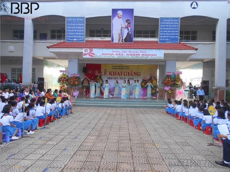 Trường tiểu học Tạ Uyên - phường Long Bình