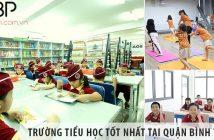 Top trường tiểu học cấp 1 tốt nhất tại quận Bình Thạnh