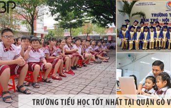 4 trường tiểu học cấp 1 tốt nhất tại Quận Gò Vấp, TP HCM