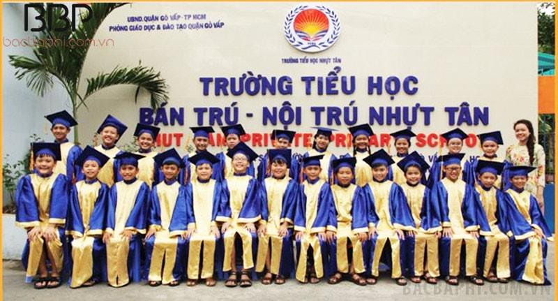 Trường tiểu học bán trú - nội trú Nhựt Tân - Phường 9