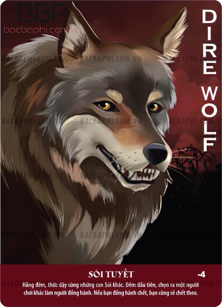 Dire Wolf (Sói tuyết)