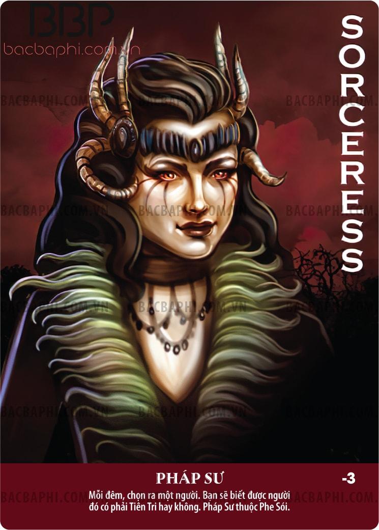 Sorceress (Pháp sư sói)