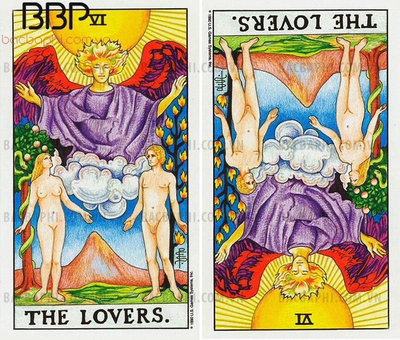 Lá bài VI – The Lovers (Uyên ương) xuôi và ngược
