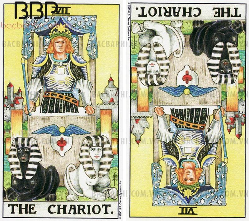 Lá bài VII – The Chariot (Chiến xa)