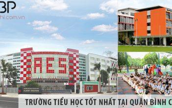 Top 5 trường tiểu học cấp 1 tốt nhất tại Huyện Bình Chánh
